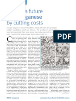 Finding a Future for Manganese by Cutting Costs