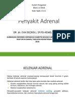 Blok 2.3 2018 - Penyakit Adrenal
