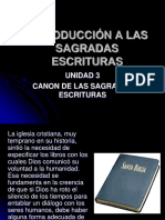 Introduccion a las escrituras