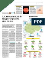 La Amazonía Más Frágil y Expuesta Que Nunca