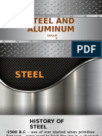 Steel and Aluminum