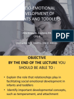 Socio-emotional Development Inf Ant Todd