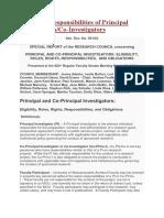 Roles and Responsibilities of Principal Investigators.docx