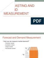 Chapter 3- Forecasting and Demand Measurement