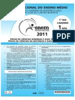 ENEM - 2011 - DIA 01 - CADERNO 01 - AZUL - PROVA PADRÃO.pdf