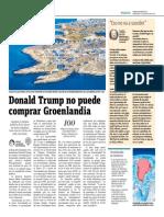 Donald Trump No Puede Comprar Groelandia