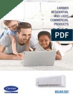 Carrier Brochure en 2018