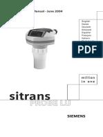 SITRANS_ProbeLU_QuickStart