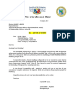 Tesda Letter of Intent
