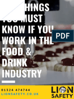 Top Dangers for the Food & Drink Industry