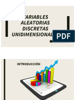 Variables Aleatorias Unidimensionales