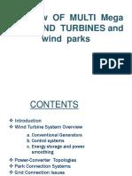 Overview of MULTI Megawatt WIND TURBINES and Wind Park