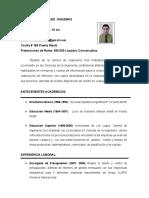 curriculum civil industrial