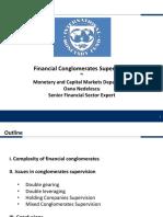 M1 Conglomerates Supervision Presentation O.nedelescu