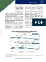 Indicador Mensual de la Actividad Económica del Paraguay1