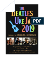 Beatles Uke Jam Songbook 2019