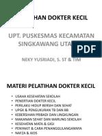 Pelatihan Dokter Kecil Pusk Skw Utara 1