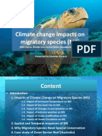 Climate Change Impacts on Migratory Species-scrib