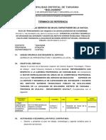 TDR DE CAPACITADOR