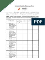 Cuadro de co-evaluación U4