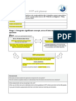 MYP Unit Planner Template 2013