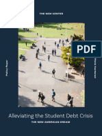Alleviating the Student Debt Crisis