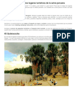 Los Seis Mejores Lugares Turísticos de La Selva (1)