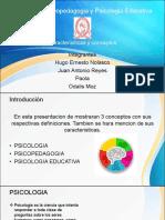 Presentacion Psicopedagogia UES