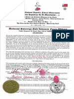MACN-R000003084_ Universal Sovereign Gold Indemnis Facere Affidavit - Tahir Rauswl El Basir Bey MACN000000687