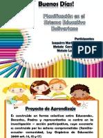 Taller proyecto de Aprendizaje (Oficial Mppe)