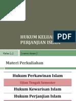 1.Hukum Perkawinan Islam
