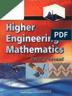 Higher Engg Mathematics - B S Grewal
