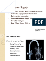 Hot Water Supply