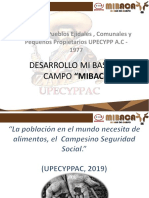 Presentacion Mi Base para el Campo Mibaca 22 07