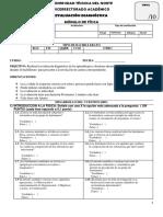 Evaluacion Diagnóstica de Fisica _ Utn. Sin Respuestas