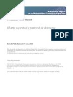 El arte espiritual y pastoral de detenerse - V Fernandez.pdf