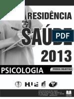 Residencia Saúde 2013