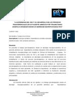 la experiencia del self y el desarrollo de los procesos transferenciales. Lisandro Vales.pdf
