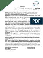 Contrato, Errazuriz, Cristobal Neira