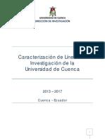 01 - Caracterización Líneas de Investigación CTI-UC v05