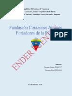 Fundacion Corazones Jovenes Forjadores de La Patria1