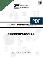 A0631 MA Psicopatologia II ED1 V1 2014