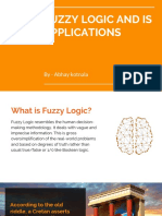 Fuzzy logic and its application