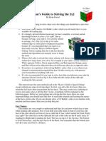 Rubiks Cube 2x2x2 Solving Guide