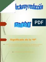 PPT USO DE LA H