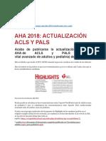 ACLS CAMBIOS 2018 WS AC