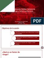 TEO 3. Factores de Riesgos - Protectores Familiares