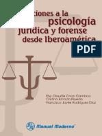 Aportaciones a la psicología jurídica y forense desde Iberoamérica, ed. 1 - Elsy Claudia Chan Gamboa.pdf