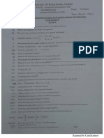 P D E past papers