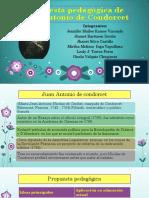 propuesta pedagogica de juan antonio de condorcet
